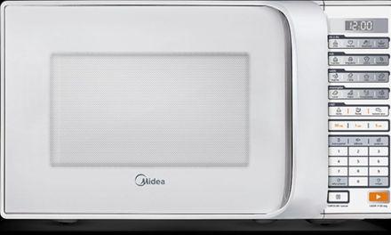 Como ajustar o relógio do Microondas Midea 30 litros Branco – MTBS4