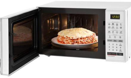 Como descongelar alimentos com microondas LG 23L – MS2355