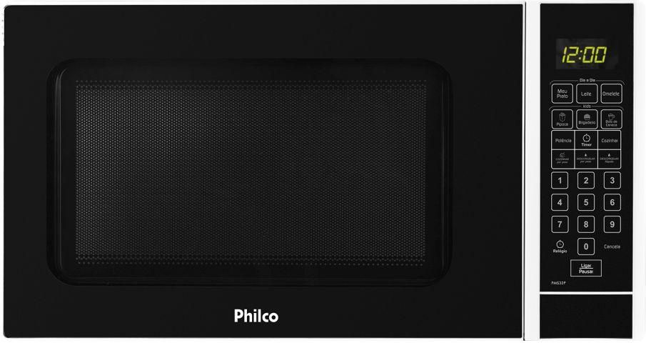 Medidas do Microondas Philco 30 litros Preto - PMS32P
