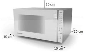 Instalação do microondas Brastemp - BMS45