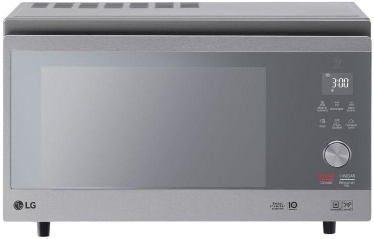 Como ajustar o relógio do microondas LG