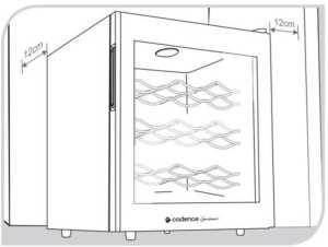 Instalação da Adega Climatização Cadence 12 garrafas