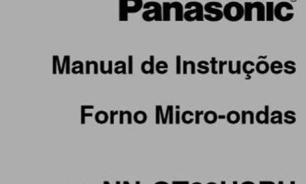 Manual Instruções Microondas Panasonic 30l Style Grill – GT68H – Parte 2