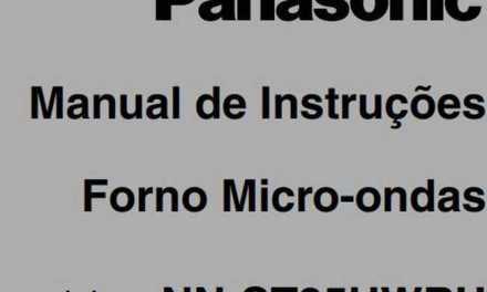 Manual de Instruções do Microondas Panasonic Piccolo 25L – NN-ST35H