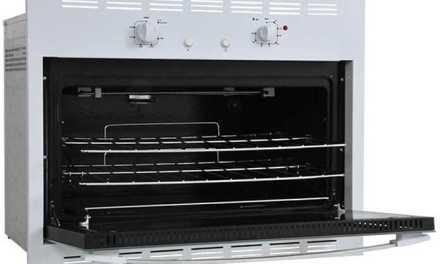 Medidas do Forno a Gás de Embutir Venax 90L Bianco