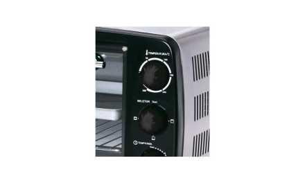 Medidas do Forno elétrico BlackandDecker 14L – 1200W – FT140
