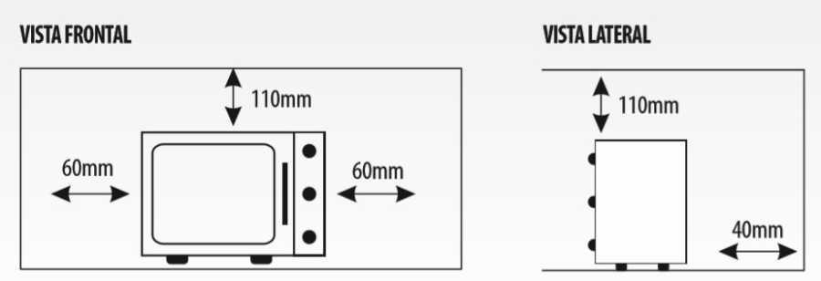 Medidas do Forno Elétrico Layr 46 litros Lyder Easy Clean