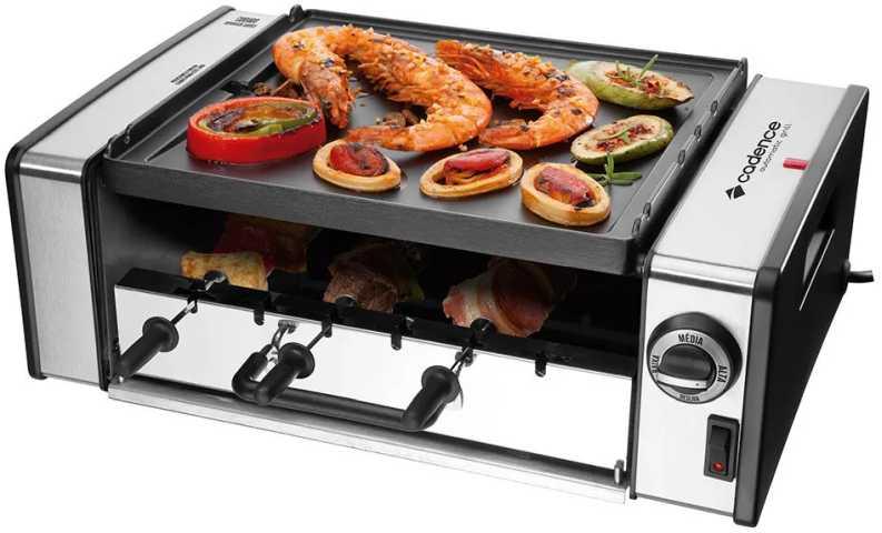 Medidas da churrasqueira elétrica Cadence - Automatic Grill