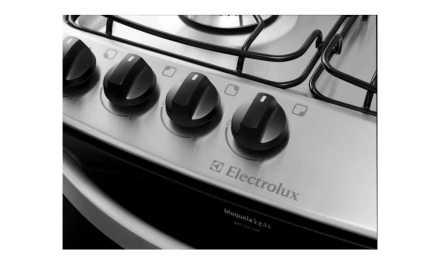 Manual de instruções do fogão de piso Electrolux 4 bocas 56SX