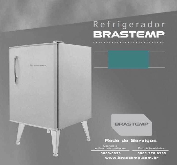 Manual de Operações do frigobar Brastemp