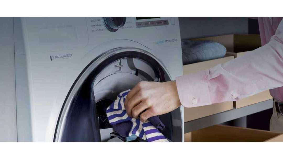 Manual de instruções da lavadora de roupas Samsung