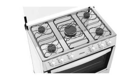 Manual do fogão de piso Atlas Mônaco Branco 5Q