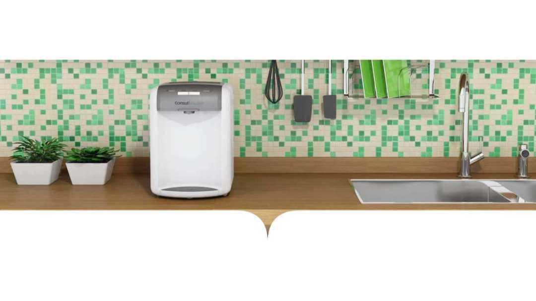 Como limpar o purificador de água Consul