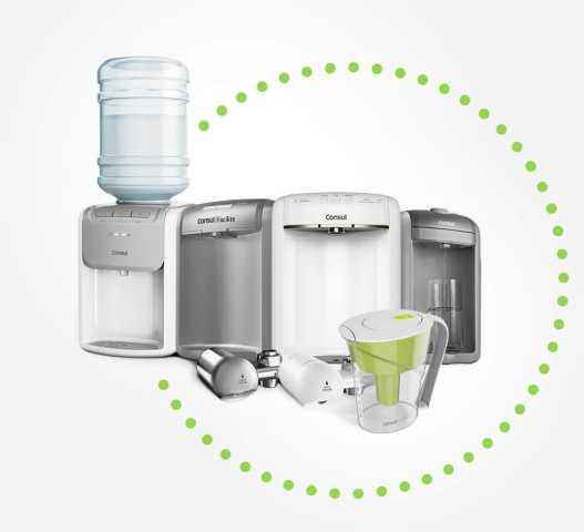 Limpeza e Manutenção do purificador de água Consul