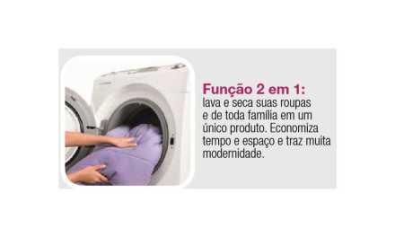 Solução de problemas lavadora e secadora Electrolux 12Kg – LSE12