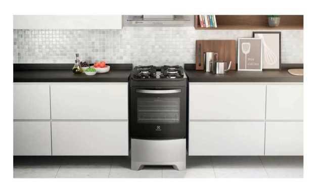 Conhecendo fogão a gás de piso Electrolux 4 bocas – 52LSV