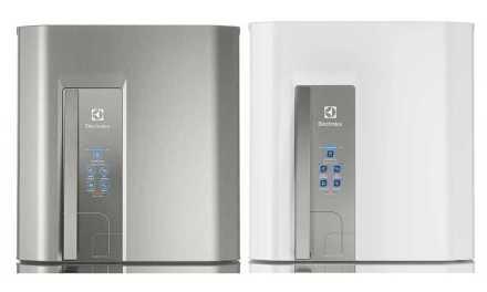 Solução de problemas da geladeira Electrolux 402L Top Freezer DF44