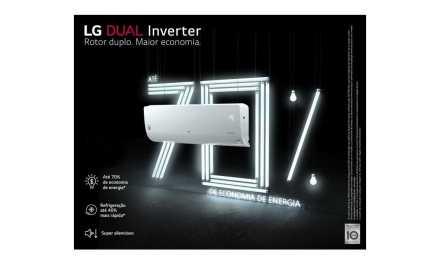 Medidas do ar condicionado dual inverter LG Q/F 24000BTU – S4-W24KE3
