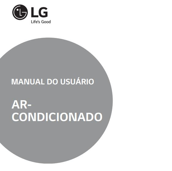 Ar condicionador LG - capa manual