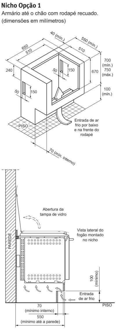 Como instalar o fogão Electrolux 4 bocas de embutir