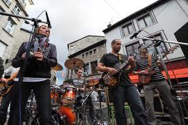 Nizza francia riviéra - a zene ünnepe, fete de la musique
