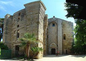Utazás lakóautóval Montpellier - Maguelone katedrális
