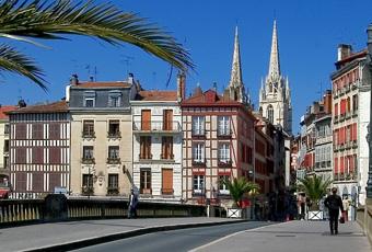 El Camino - Bayonne, baszk föld