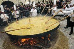 húsvét lakóautóban - haux omelette de paques