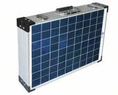 napelem hordozható kivitelben - solar koffer