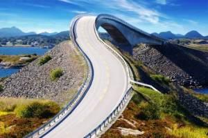 Leglátványosabb út- Atlanterhavsveien, Norvégia