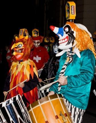 Basel, Svájc - karnevál
