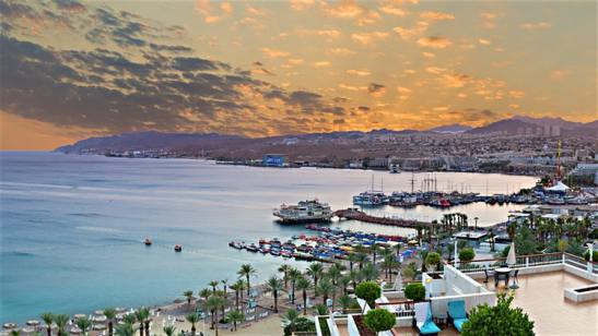 Fapados úticél 2018 - Eilat, Izrael