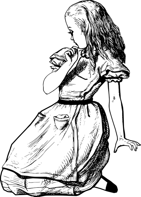 Alice Reflecting
