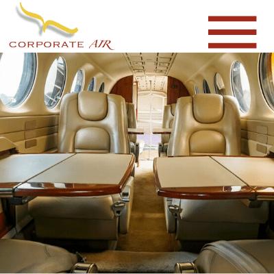 Corporate Air, Web Design Zambia, Elev8 Marketing, Websites by Elev8 Marketing