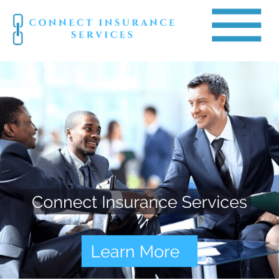 Web Design in Zambia, Connect Insurance, Elev8 Marketing, Websites by Elev8 Marketing