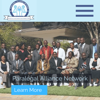 Paralegal Alliance Network, Web Design in Zambia, Elev8 Marketing, Websites by Elev8 Marketing