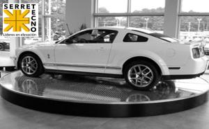 plataforma Giratoria autos