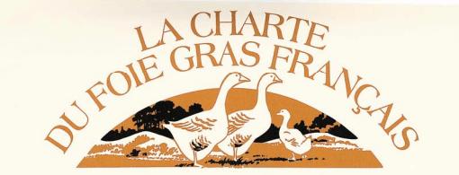 Charte foie gras francais