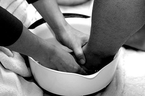 Evangelio apc Lavando los Pies