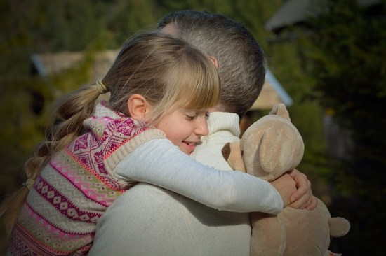 Gospel apc Father and daughter embraced
