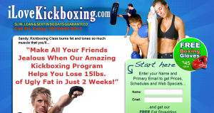 Sandy Kickboxing Classes Website