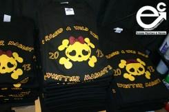 Maroon/Gold - Black T-shirt Elevate Creation Design (Whittier, CA)