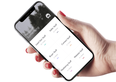 Elevated App Displaying Request Page
