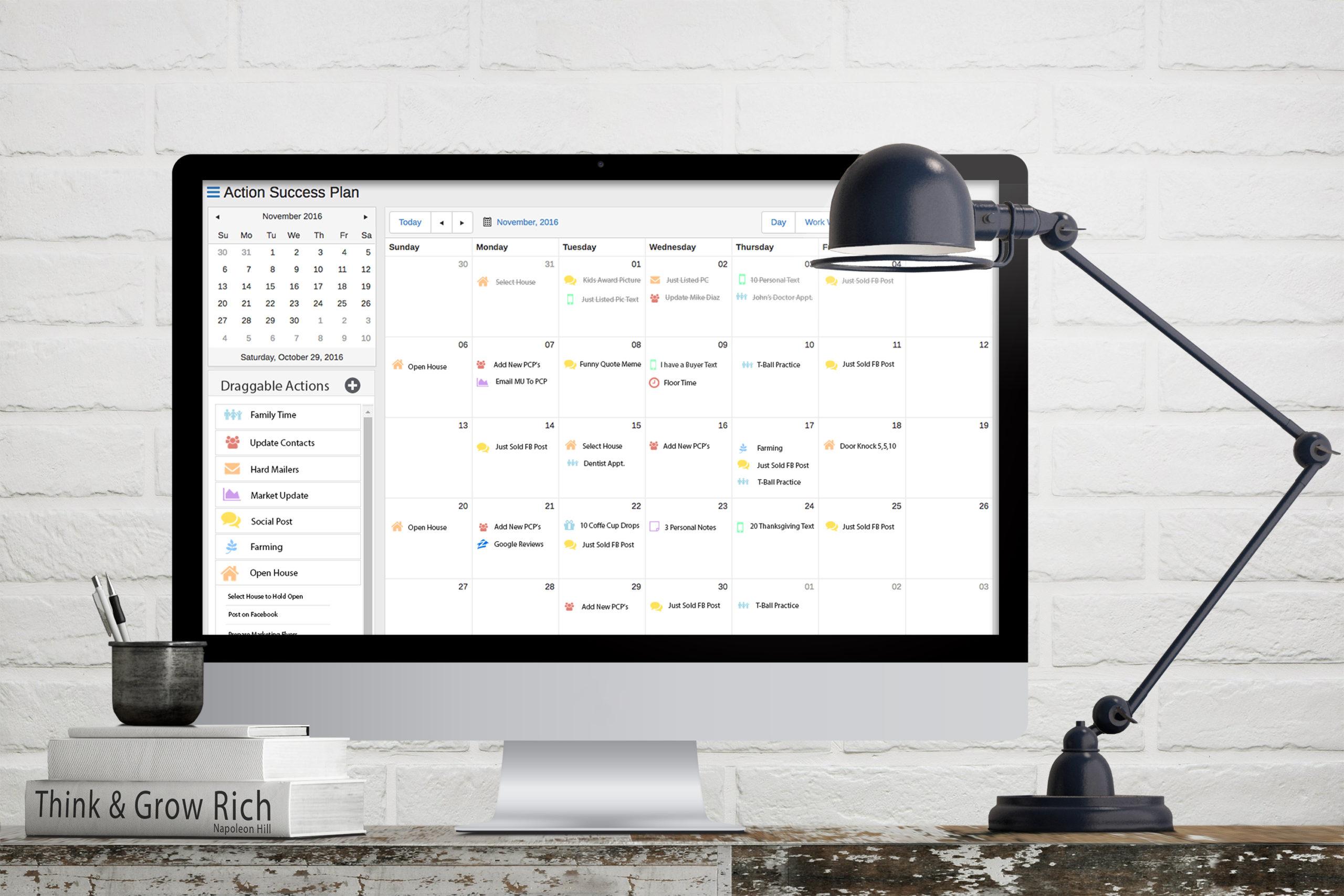 Elevated LeadTime Calendar in iMac