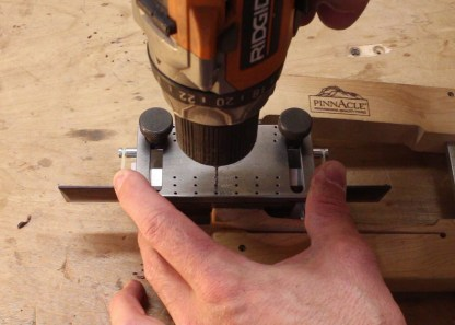 Pinless Bridge Drilling Jig Luthier Tools Products Services