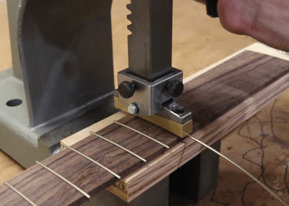 Fret Press System Luthier Tools Products Services