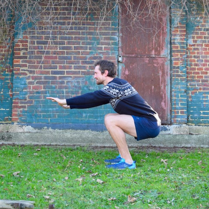 Squat or Lunges