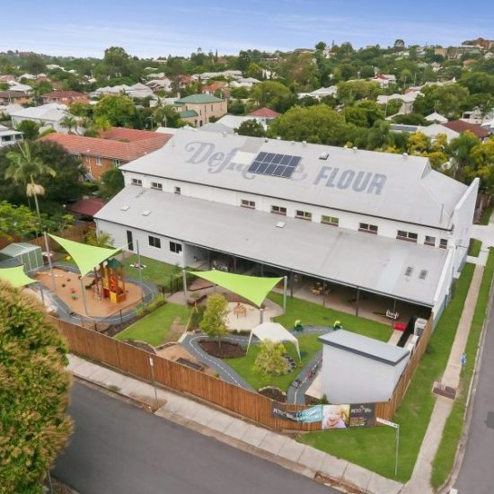 Wooloowin Childcare External Aerial Drone
