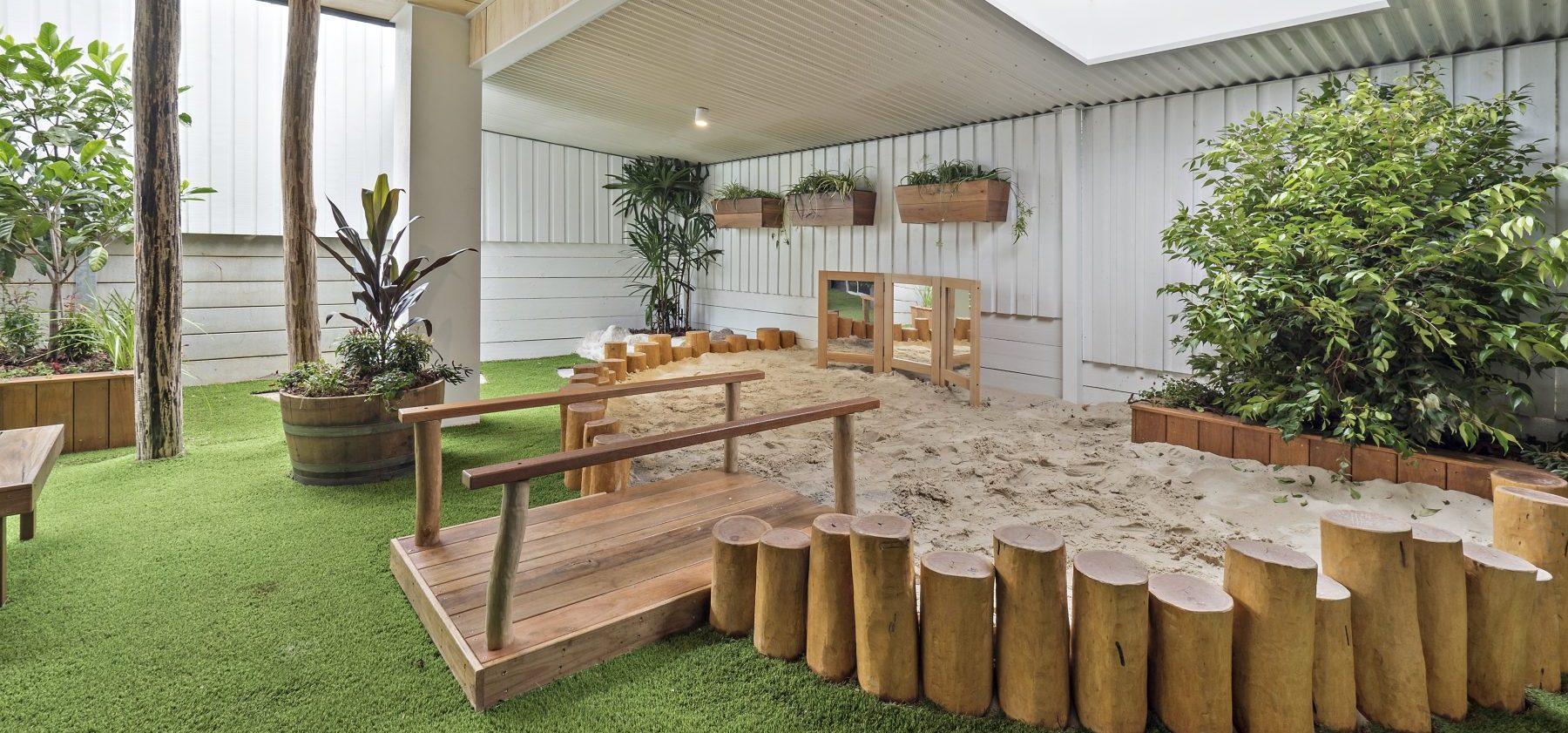 Harmony Balmoral Exterior Sandpit