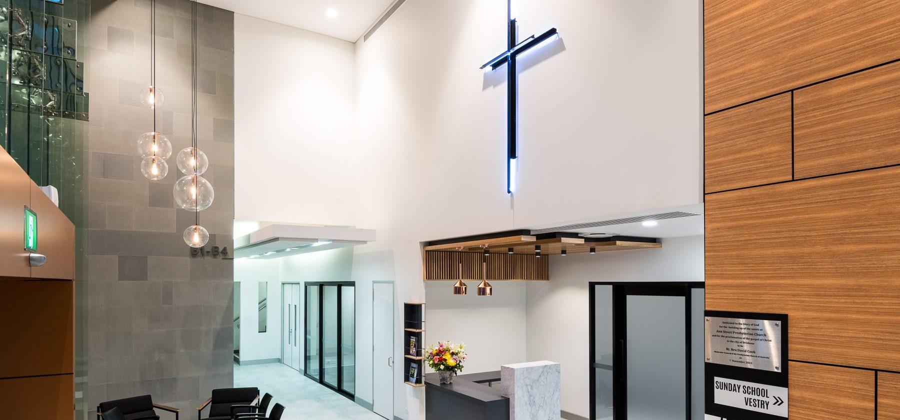 Ann Street Presbyterian Church Internal Entry